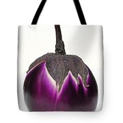 An Eggplant Jewel Tote Bag