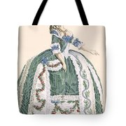 An Elaborate Royal Court Gown, Engraved Tote Bag