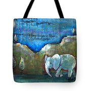 An Elephant For You Tote Bag