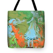 An Elf In Wonderland Tote Bag