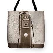 An Esso Petrol Pump From The First Half Tote Bag