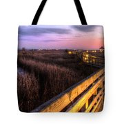 An Evening At The Marsh Tote Bag