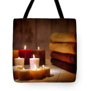 An Evening At The Spa Tote Bag
