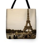 An Evening At The Tower Tote Bag