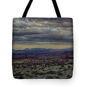 An Evening In The Desert Tote Bag