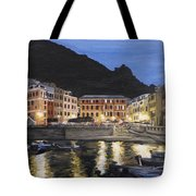 An Evening In Vernazza Tote Bag