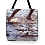 An Evening Run Tote Bag