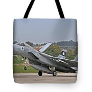 An F-15a Baz Of The Israeli Air Force Tote Bag