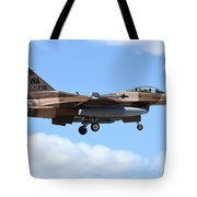 An F-16c Fighting Falcon From 64th Tote Bag