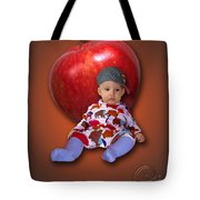 An Image Of A Photograph Of Your Child. - 04 Tote Bag