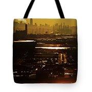 An Imposing Skyline Tote Bag