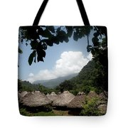 An Indigenous Village In The Jungles Tote Bag