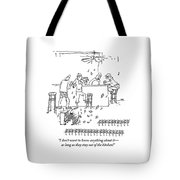 An Invasion Of Dancing Mice And A Cat Pianist Tote Bag