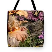An Iris Surprise Center Tote Bag
