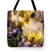 An Iris Surprise Right Tote Bag