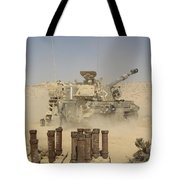 An Israel Defense Force Artillery Corps Tote Bag
