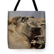 An Israel Defense Force Caterpillar D-9 Tote Bag