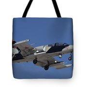 An L-39za Albatros Used As A Threat Tote Bag