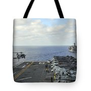 An Mh-60s Sea Hawk Takes Tote Bag