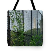 An Obstructed View Of Washington Tote Bag