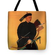 An Officer Of The Qing Army Tote Bag