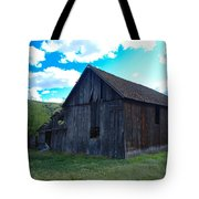An Old Barn In The Sage Tote Bag