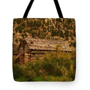 An Old Cabin In Utah Tote Bag