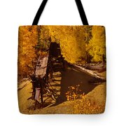 An Old Colorado Mine In Autumn Tote Bag
