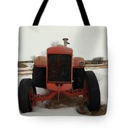 An Old Dase Tractor Tote Bag