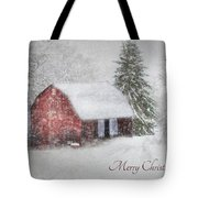 An Old Fashioned Merry Christmas Tote Bag