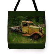 An Old Flatbed Tote Bag