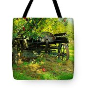 An Old Harvest Wagon Tote Bag