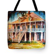 An Old Louisiana Planters House Tote Bag