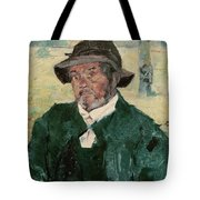 An Old Man, Celeyran, 1882 Oil On Canvas Tote Bag
