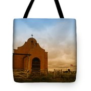 An Old Mission In Northeastern Montana Tote Bag