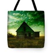 An Old North Dakota Farm House Tote Bag