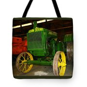 An Old Restored John Deere Tote Bag
