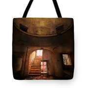 An Old Ruined Building Tote Bag