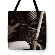 An Old Rusty Bicycle Tote Bag