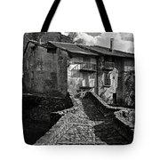 An Old Spanish Town Puente De Montanana Tote Bag