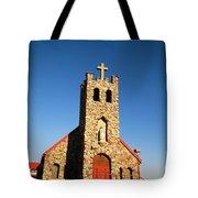 An Old Stone Church Tote Bag