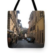 An Old Street In Assisi Italy  Tote Bag