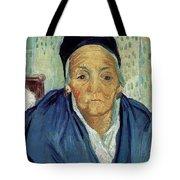 An Old Woman Of Arles Tote Bag