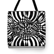 An Optical Illusion Tote Bag