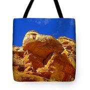 An Orange Boulder Tote Bag