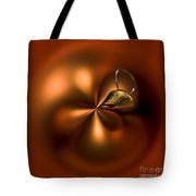 An Orb Of Orange Tote Bag by Anne Gilbert