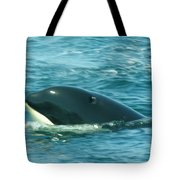 An Orca Surfaces  Tote Bag