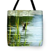 An Out Of Focus Flap  Tote Bag