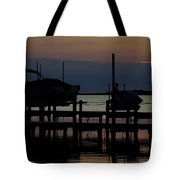An Outer Anks Of North Carolina Sunset Tote Bag