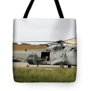 An Sh-3d Sea King Airborne Early Tote Bag